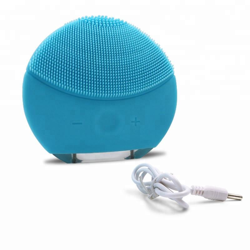 Электрическая щетка для лица FOREVER Lina Mini 2 с индивидуальной настройкой очистки Голубой
