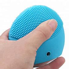 Электрическая щетка для лица FOREVER Lina Mini 2 с индивидуальной настройкой очистки Голубой, фото 3
