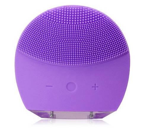 Электрическая щетка для лица FOREVER Lina Mini 2 с индивидуальной настройкой очистки Фиолетовый , фото 2