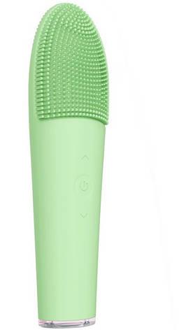 Электрическая щетка для очистки лица ABOEL ABB620 массажер для лица 2 в 1 Зеленый, фото 2