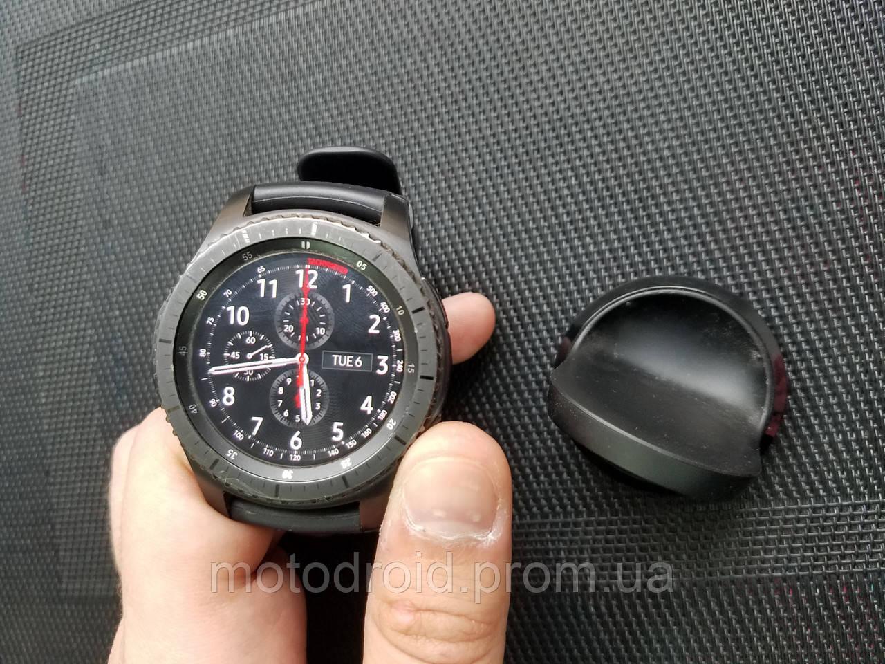 Смарт годинник Samsung Gear S3 Frontier  продажа 00c63a9dfac20