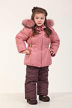 Комплект (куртка+ полукомбинезон) 76LILOVIY 80 см Лиловый