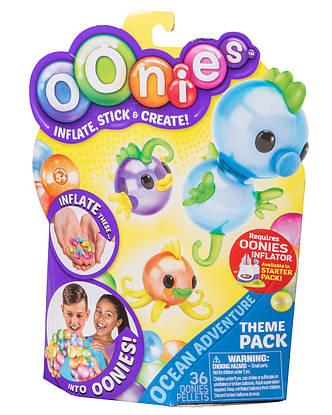 Тематичний набір аксесуарів OONIES Ocean Adventure для дитячої творчості, фото 2