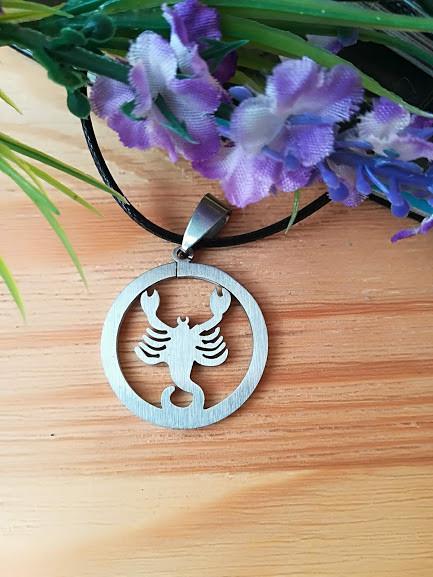 Знак зодиака Скорпион из нержавеющей стали
