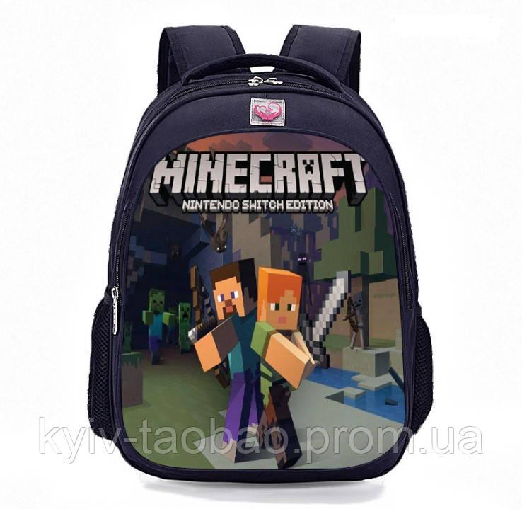 0fc7a66830fe Школьный рюкзак Minecraft Майнкрафт с принтом: продажа, цена в Киеве ...