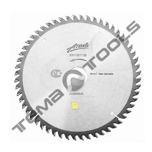 Пильный диск по ламинату АТАКА 250х80х32 (отр. угол)