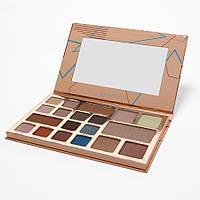 Набор для макияжа Desert Oasis - 19 Color Shadow and Highlighter Palette BH Cosmetics. Оригинал