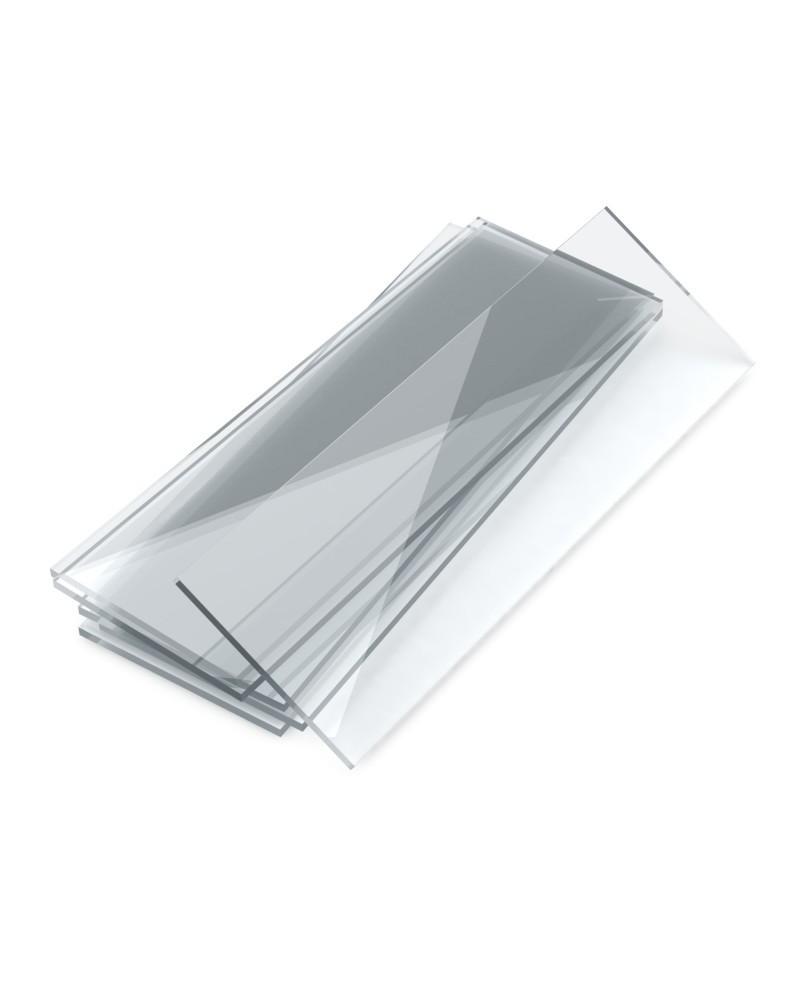 Стекло предметное со шлифованными краями 76х26 мм, стекло