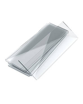 Стекло предметное со шлифованными краями 76х26 мм, стекло, фото 2