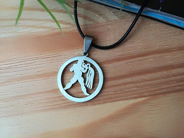 Знак зодиака Водолей из нержавеющей стали