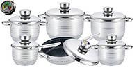 Набор кухонной посуды 12 предметов Edenberg EB-3705