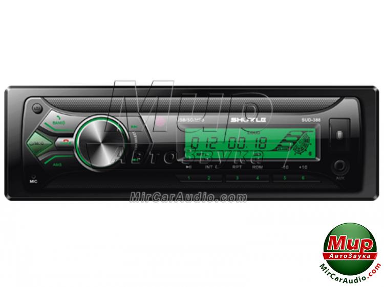 Автомагнитола Shuttle SUD-388 Black/Green