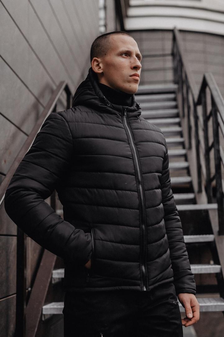 Мужская классическая зимняя куртка Pronto Black