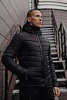 Мужская классическая зимняя куртка Pronto Black, фото 1