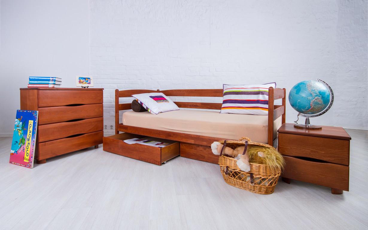 Деревянная детская кровать Марио 70х140 см. Аурель (Олимп)