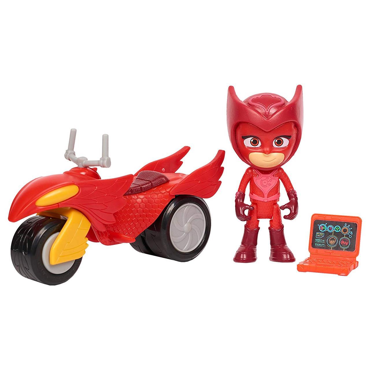Игровой набор - PJ Masks Super Moon Rovers Owlette Toy, Red/Yellow/Black (Герои в масках. Алетт и луноход)