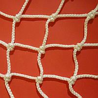 Сетка оградительная капроновая  D 3,5 мм. Ячейка 7,5 см. заградительная, для спортзалов, стадионов.