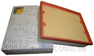 Воздушный фильтр на Рено Лагуна III 2.0dci, 1.5dci, 2.0i 16V / Renault Original 8200602361
