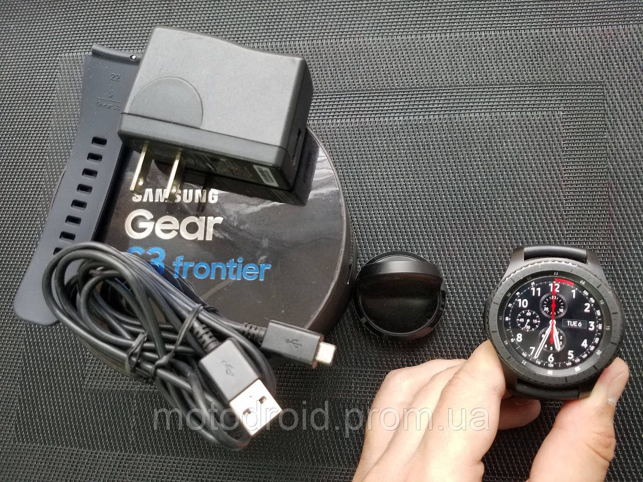 Смарт годинник Samsung Gear S3 Frontier