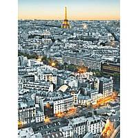 Фотообои на стену Париж с высоты птичьего полета, 183х254 см