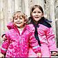 Зимний сдельный термо комбинезон для девочек 1,5 - 2 года, р. 92, Topolino (Topomini), фото 7