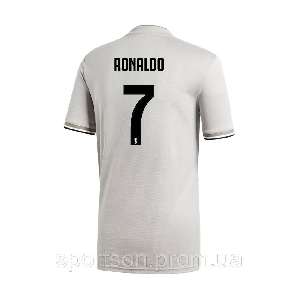 Футбольная форма 2018-2019 Ювентус (Juventus), выездная RONALDO 7