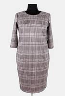 Платье свободного силуэта из замша 52 и 54 р