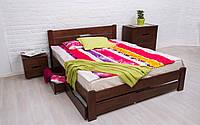 Деревянная кровать Айрис с ящиками 80х190 см. Аурель (Олимп), фото 1