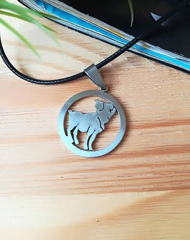 Знак зодиака Овен из нержавеющей стали, фото 2