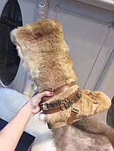 Женские сапоги лунаходы Love Moschino в интернет магазине женская обувь! Италия!натуральный мех , фото 3