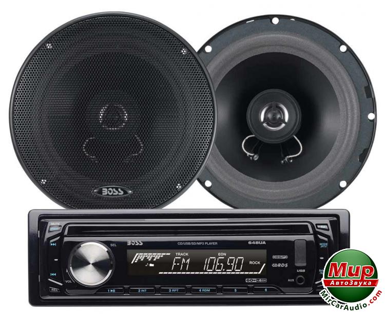 "Комплект Boss Audio 654CK (kit 648UA+6.5"")"