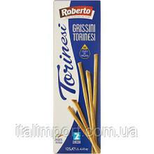 "Хлебные палочки гриссини ""Торинези"" Roberto 125г"