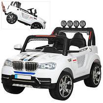 Детский электромобиль джип M 3118EBLR-1BMW белый Гарантия качества Быстрая доставка