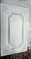 Фрезрованный Фасады МДФ с патиной серебро