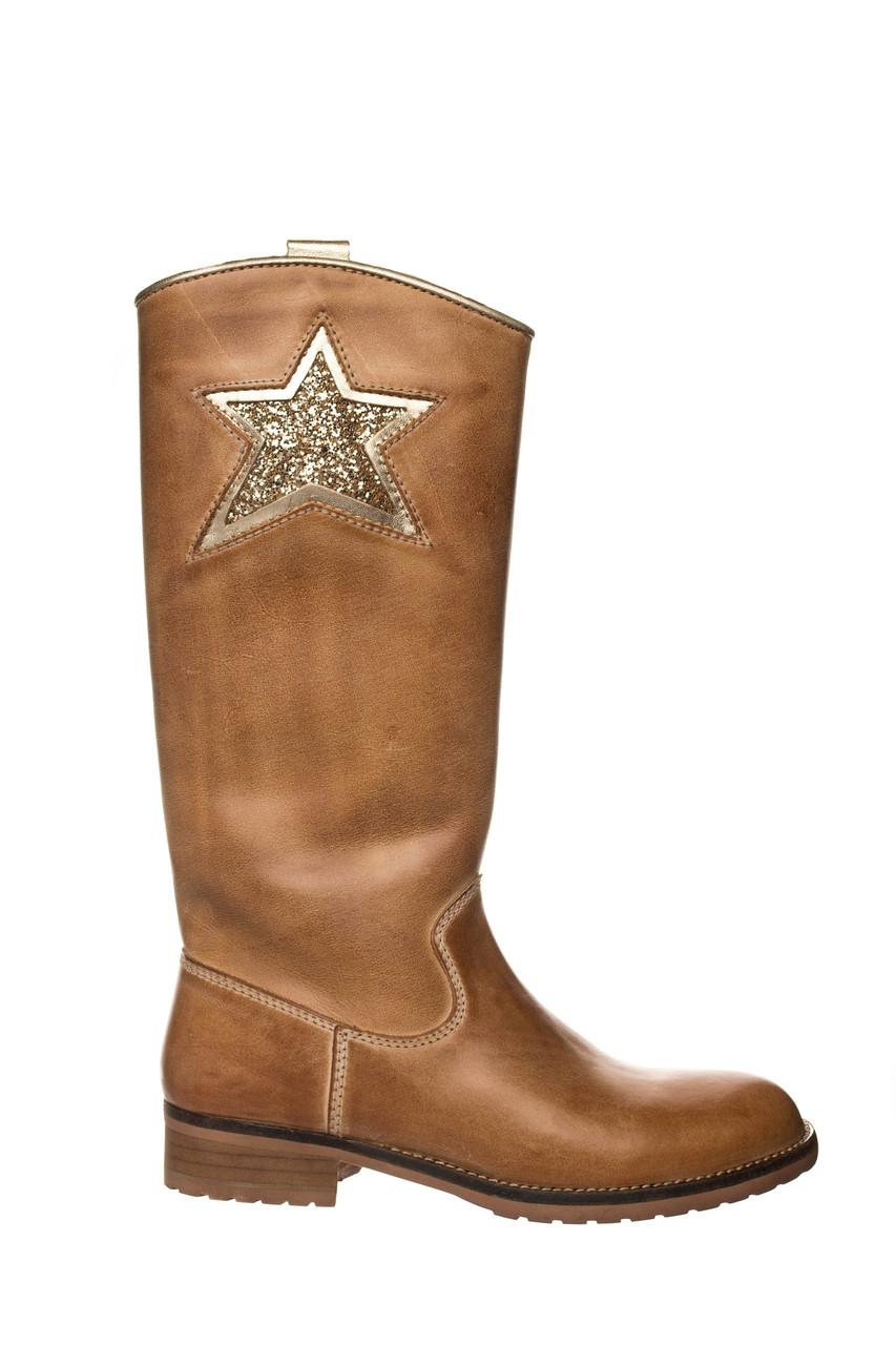 Жіночі чоботи HIP Star 37 Brown