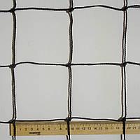 Сетка оградительная D 2,5 мм. 10 см. ячейка заградительная, для спортзалов, стадионов, спортплощадок.