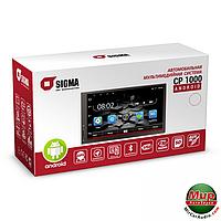 2 дин магнитола на андроид  Sigma CP-1000 Android