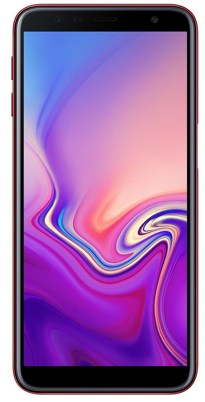 Сенсорный мобильный телефон Samsung Galaxy j610 J6 Plus 3/32 GB 2018 Red