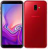 Сенсорный мобильный телефон Samsung Galaxy j610 J6 Plus 3/32 GB 2018 Red, фото 7