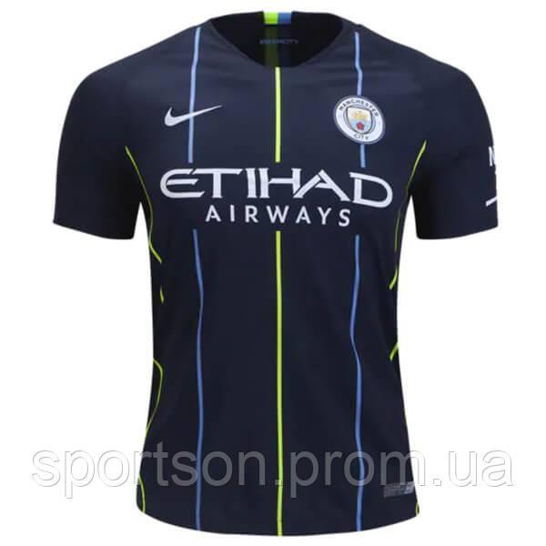 Футбольная форма 2018-2019 Манчестер Сити (Manchester City) выездная