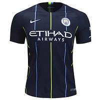 Футбольная форма 2018-2019 Манчестер Сити (Manchester City) выездная, фото 1