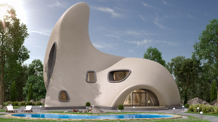 Жилой монолитный дом