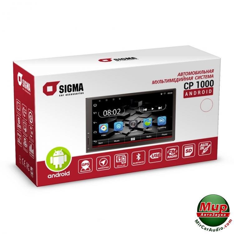 Автомагнитола Sigma CP-1000 Android (Navlux)