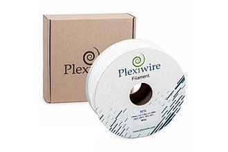 Пластик в котушці PETG 1,2 кг/400 м, Plexiwire, Білий