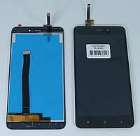 Экран и сенсор для Xiaomi Redmi 4A (Модуль) черный (Ксиаоми редми 4а)