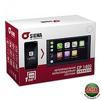 Магнитола на андроиде 2 Дина Sigma CP-1400 Android CarPlay