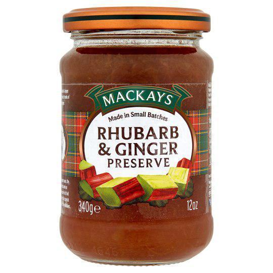 Джем Mackays Rhubarb&Ginger Preserve