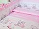 Мишка игрушки розовый