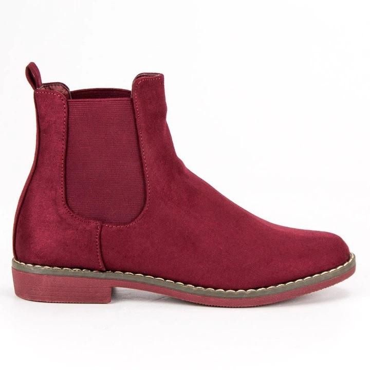 Женские ботинки Moder red