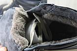 Высокие зимние кроссовки в стиле Vans натуральная кожа, фото 2